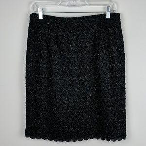 Carmen Marc Valvo | Embellished Sequin Skirt